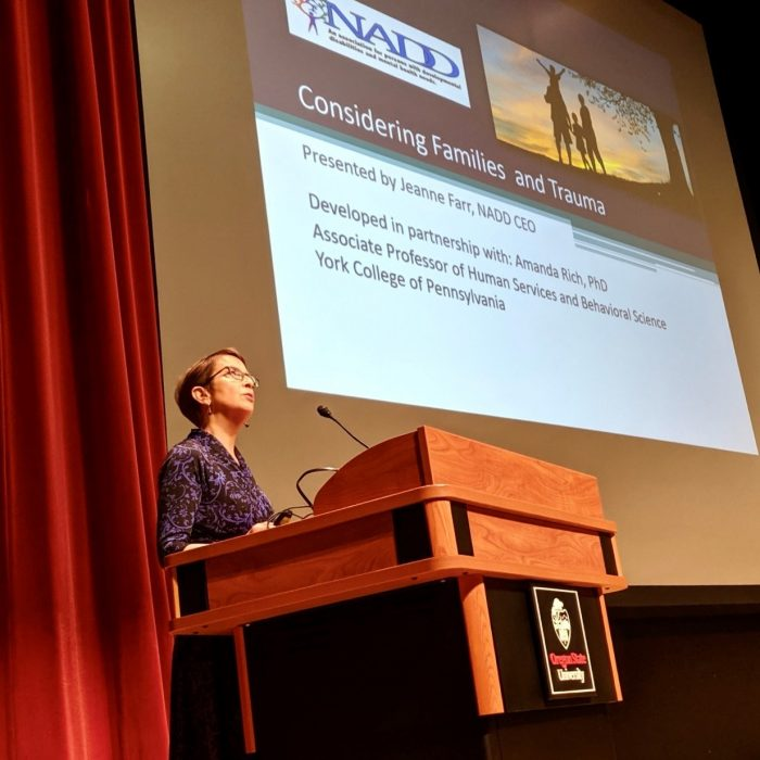 NADD CEO, Jeanne Farr, attends Oregon's Children's IDD and Mental Health Summit